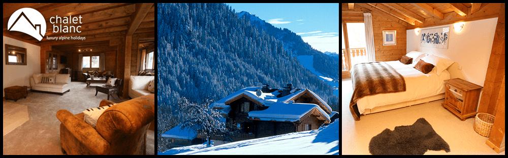 chalet blanc luxury ski holidays chatel