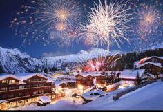 Fireworks - Courchevel