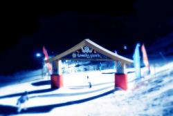 Night Skiing - Courchevel