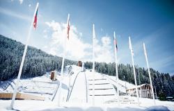 Ski Jumps - Courchevel