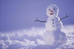 Build a snowman on Christmas Day!