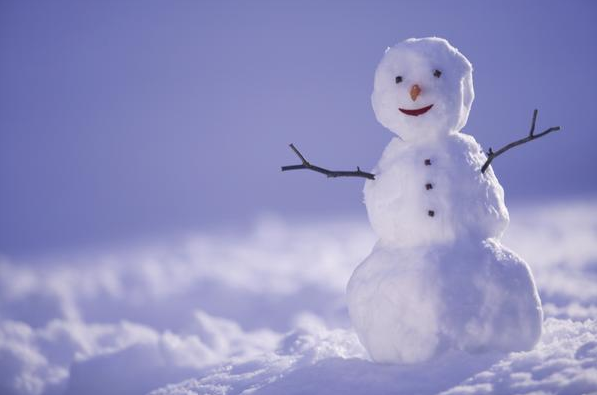 Build a snowman on Christmas Day!