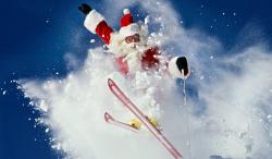 Meet Santa in Morzine!