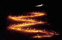 Torchlit Descent - Les Houches
