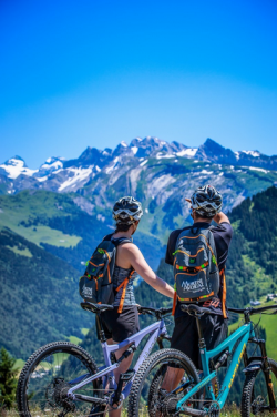 Mountain Biking in the Mountains - Summer Holiday