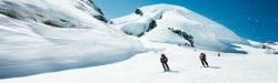 Saas Fee Summer Skiing