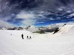 Cervinia Glacier Summer Skiing