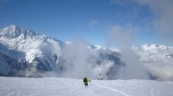 Sainte Foy - Off Piste with a view