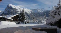 View from Chalet Allure - Samoens