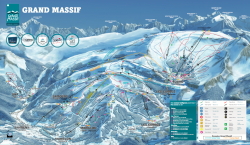 Le Grand Massif - Piste Map