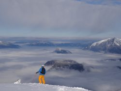 Skiing in Les Carroz - Les Moulins
