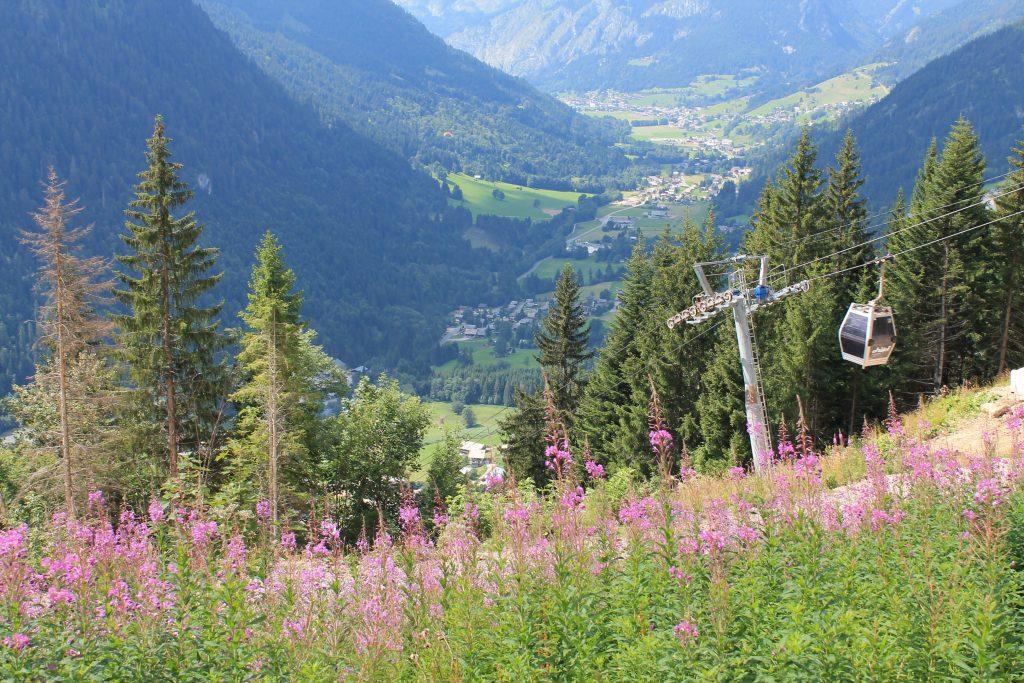 Chatel ski lift