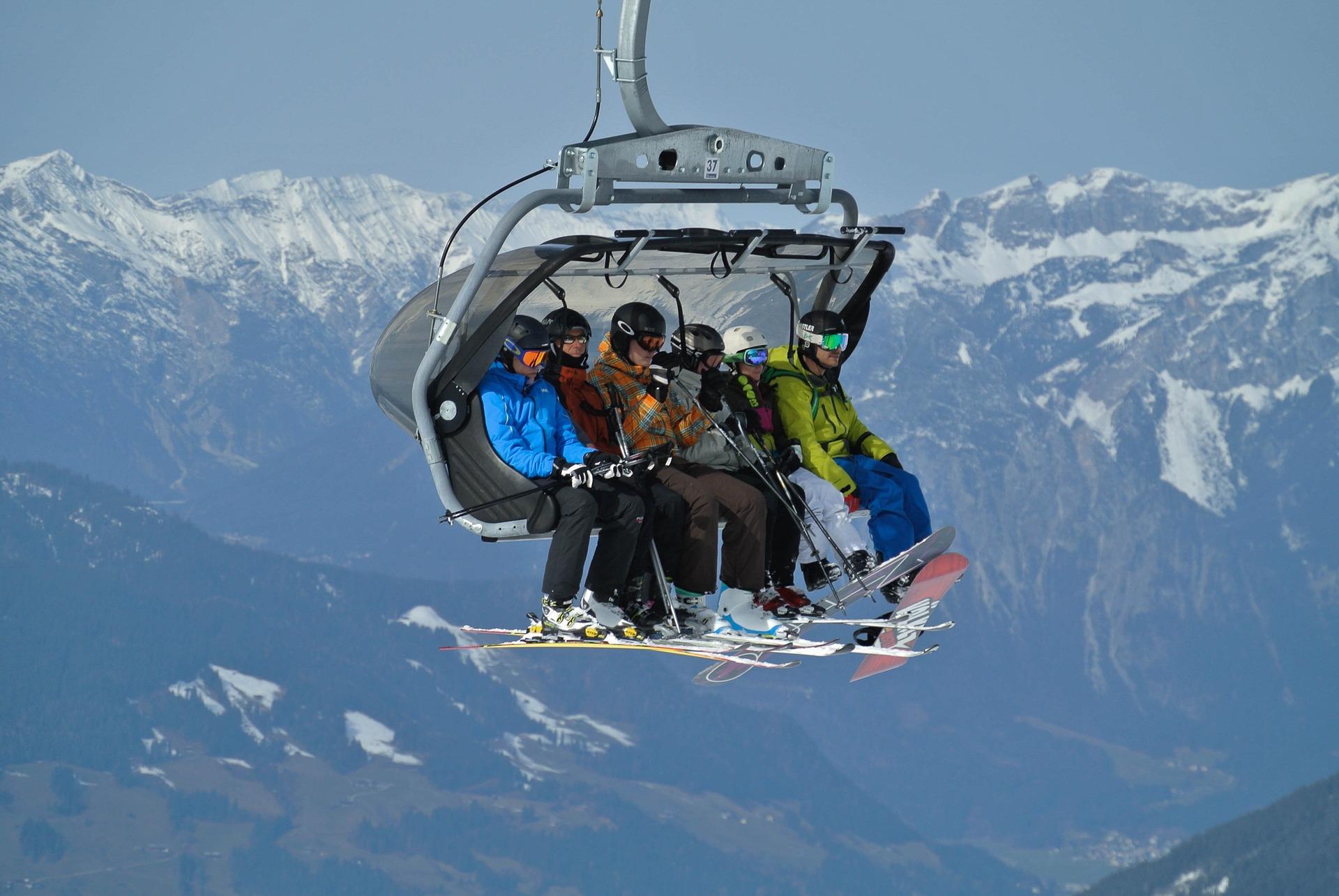 Ski lift guide