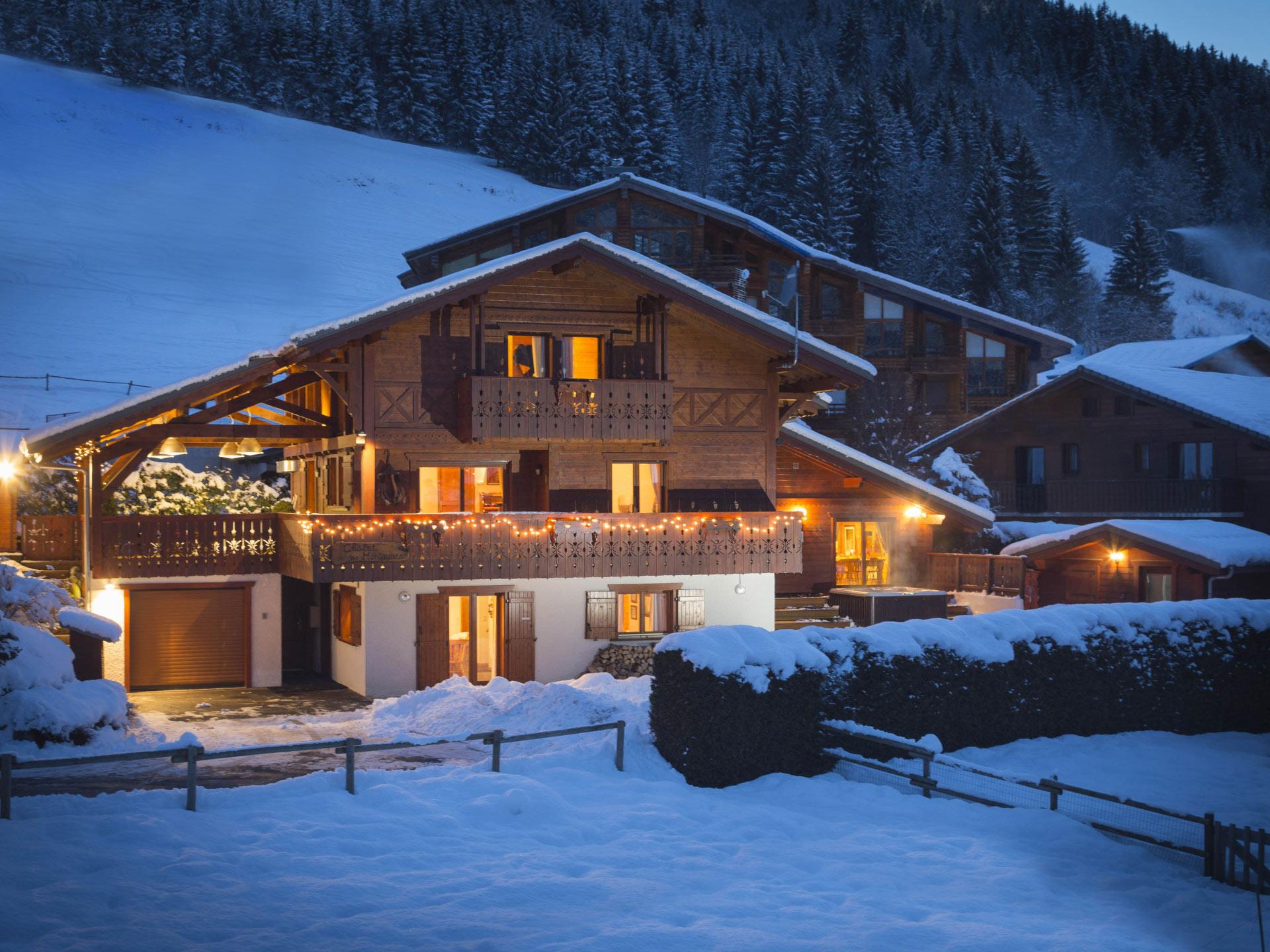 simply morzine chalet des montagnes morzine portes du soleil ski area